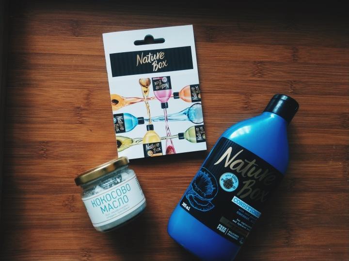 """Product review: балсам за коса с кокосово масло от """"NatureBox"""""""